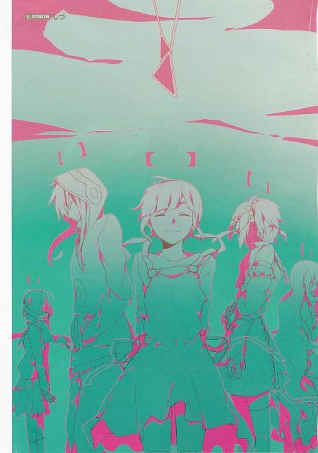 Shidu, Shaft (Studio), Kagerou Days, Tsubomi Kido, Hiyori Asahina