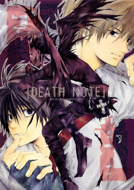 Death Note, Light Yagami, L, Doujinshi