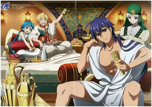 Shinobu Ohtaka, A-1 Pictures, MAGI: The Labyrinth of Magic, Aladdin (MAGI), Alibaba Saluja