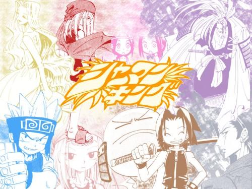 Hiroyuki Takei, Xebec, Shaman King, Horo Horo, Eliza (Shaman King) Wallpaper
