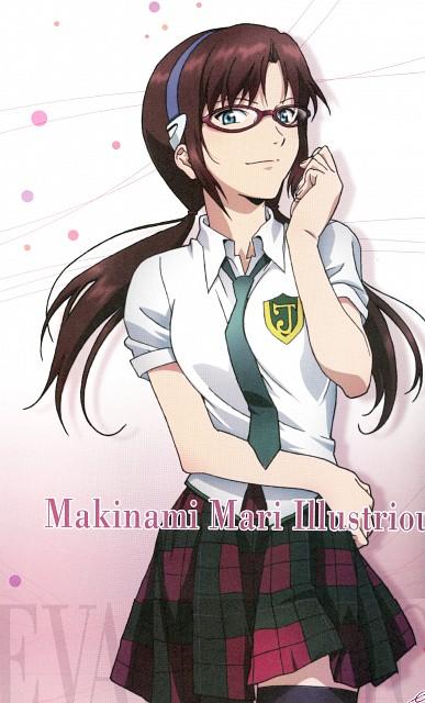 Yoshiyuki Sadamoto, Khara, Gainax, Neon Genesis Evangelion, Makinami Mari Illustrious