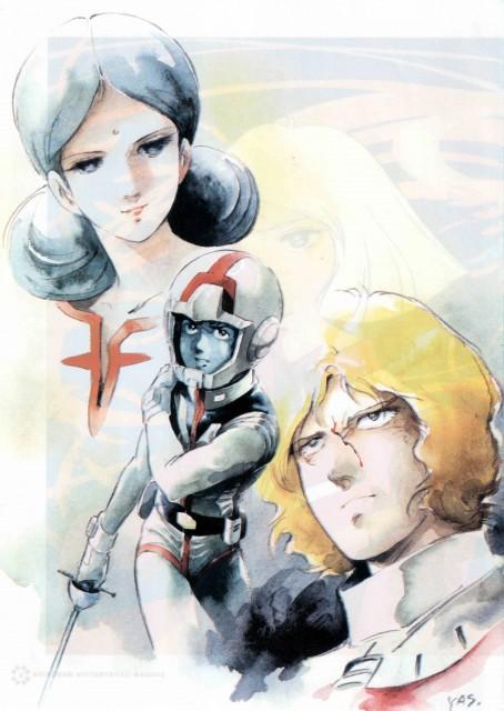 Sunrise (Studio), Mobile Suit Gundam - Universal Century, Char Aznable, Lalah Sune, Amuro Ray