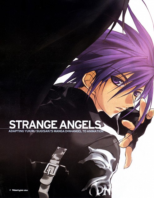 Yukiru Sugisaki, Xebec, D.N.Angel, Dark Mousy, Newtype Magazine