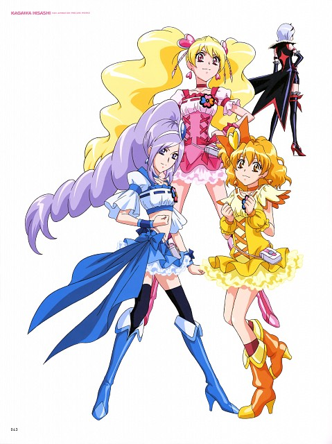 Toei Animation, Fresh Precure!, Hisashi Kagawa Toei Animation Precure Works, Cure Berry, Cure Peach