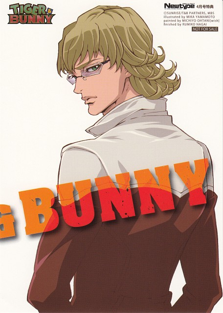 Sunrise (Studio), Tiger and Bunny, Barnaby Brooks Jr., Newtype Magazine