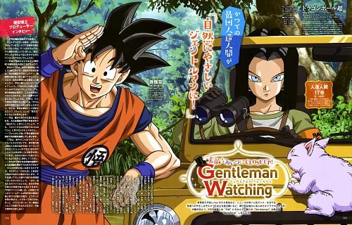 Akira Toriyama, Toei Animation, Dragon Ball, Son Goku, Android 17