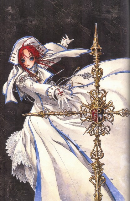 Shibamoto Thores, Gonzo, Trinity Blood, Esther Blanchett