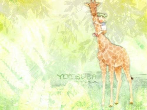 Kiyohiko Azuma, Yotsubato!, Yotsuba Koiwai Wallpaper