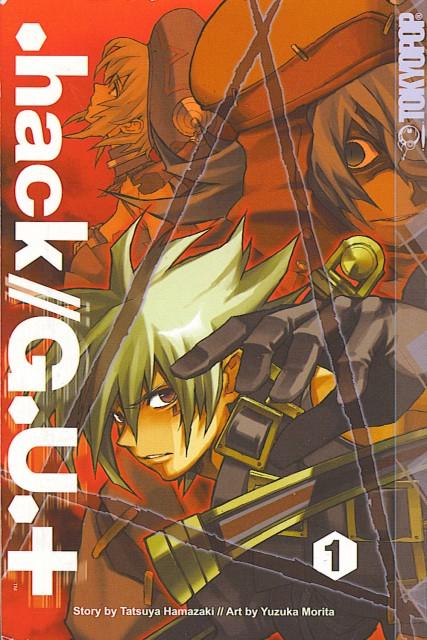 .hack//G.U., Haseo, Shino Nanao, Azure Kite, Manga Cover