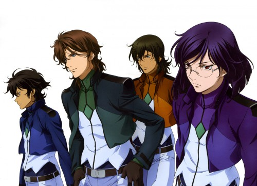 Sunrise (Studio), Mobile Suit Gundam 00, Setsuna F. Seiei, Tieria Erde, Lockon Stratos