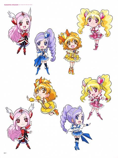 Toei Animation, Fresh Precure!, Hisashi Kagawa Toei Animation Precure Works, Cure Passion, Cure Pine