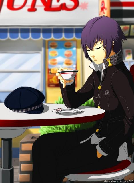 Shin Megami Tensei: Persona 4, Naoto Shirogane, Member Art