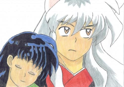 Rumiko Takahashi, Inuyasha, Inuyasha (Character), Kagome Higurashi, Member Art