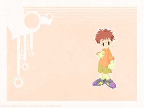 Toei Animation, Digimon Adventure, Koushirou Izumi Wallpaper
