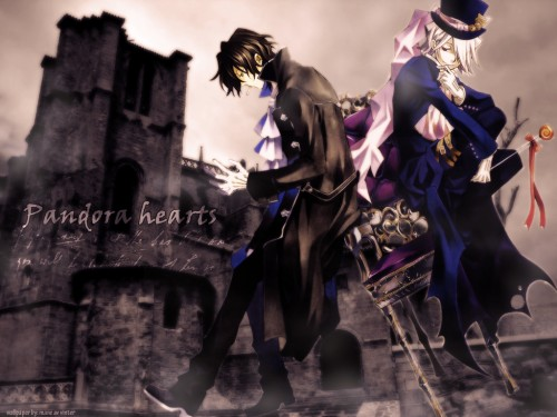 Jun Mochizuki, Pandora Hearts, Gilbert Nightray, Xerxes Break Wallpaper
