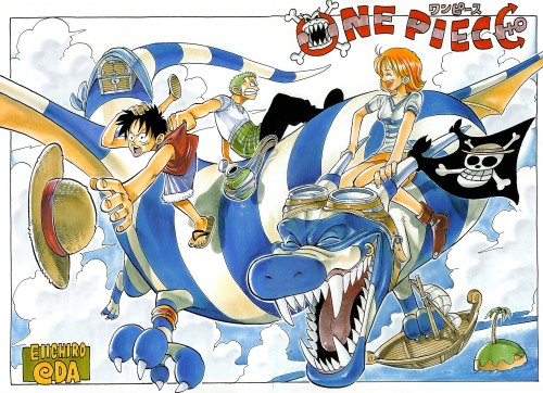 Eiichiro Oda, One Piece, Color Walk 1, Nami, Monkey D. Luffy