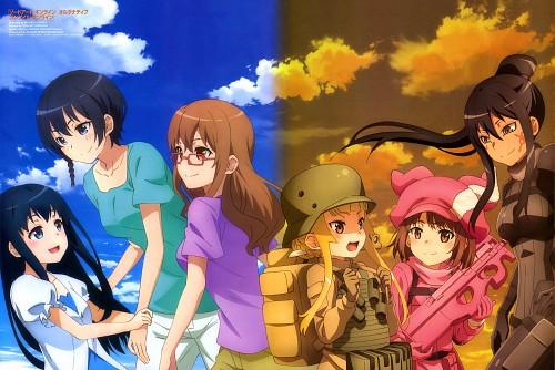 Michiko Yoshita, Studio 3hz, Sword Art Online Alternative: Gun Gale Online, Miyu Shinohara, Karen Kohiruimaki