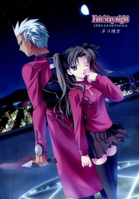 TYPE-MOON, Fate/stay night, Archer (Fate/stay night), Rin Tohsaka, Magic