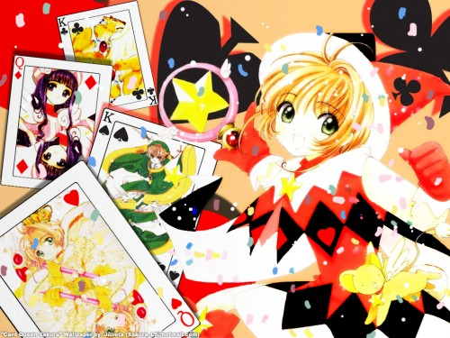 CLAMP, Madhouse, Cardcaptor Sakura, Tomoyo Daidouji, Syaoran Li Wallpaper