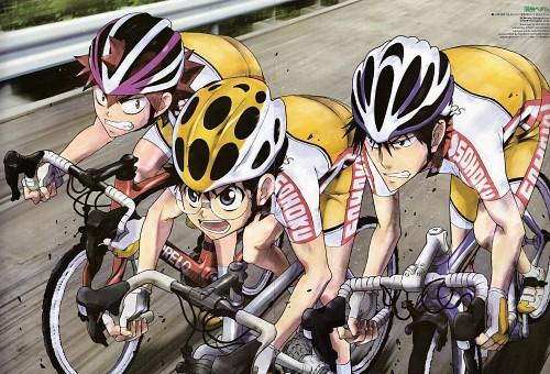 Wataru Watanabe, Yowamushi Pedal, Shunsuke Imaizumi, Sakamichi Onoda, Shoukichi Naruko