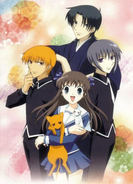 Natsuki Takaya, Fruits Basket, Shigure Sohma, Tohru Honda, Kyo Sohma