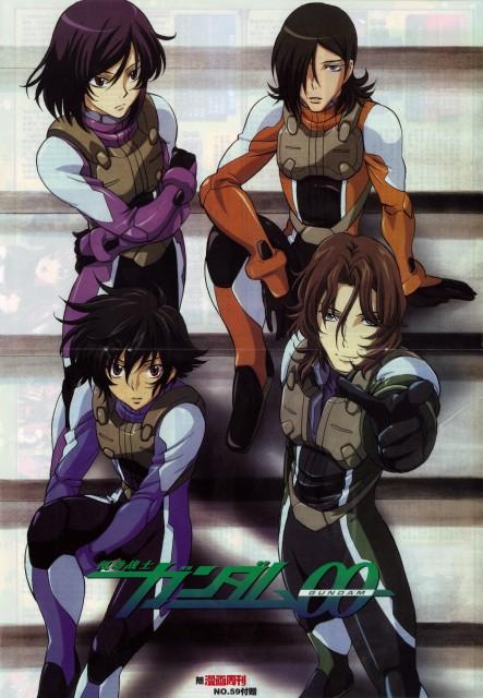 Sunrise (Studio), Mobile Suit Gundam 00, Setsuna F. Seiei, Lockon Stratos, Allelujah Haptism