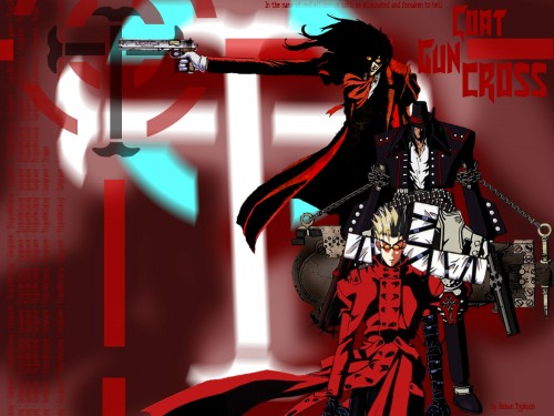 Yasuhiro Nightow, Geneon/Pioneer, Madhouse, Gungrave, Trigun Wallpaper