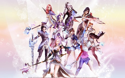 Aion: The Tower of Eternity, Occupations Wallpaper
