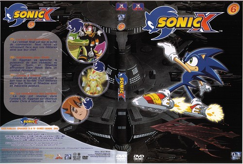 Sega, TMS Entertainment, SONIC Series, Sonic the Hedgehog, DVD Cover