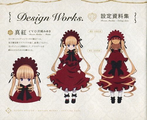 Rozen Maiden, Shinku, Character Sheet