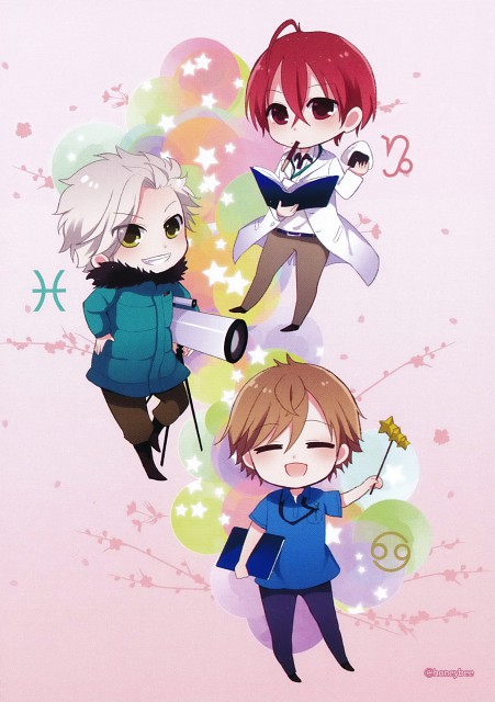 Kazuaki, Starry Sky, Kanata Nanami, Suzuya Tohzuki, Yoh Tomoe