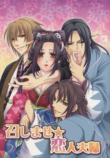 Hakuouki Shinsengumi Kitan, Souji Okita (Hakuouki), Toshizou Hijikata (Hakuouki), Chizuru Yukimura, Chikage Kazama