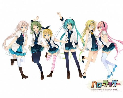 Nozomi Ousaka, Vocaloid, IA, Rin Kagamine, Gumi