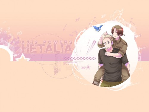 Hidekaz Himaruya, Studio Deen, Hetalia: Axis Powers, Italy, Germany Wallpaper