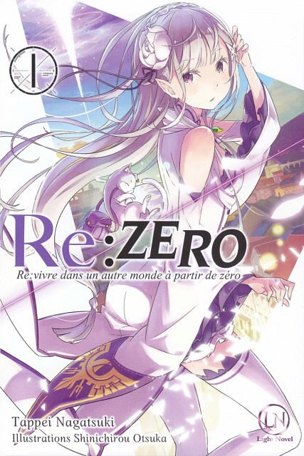 White Fox, Re:Zero, Puck (Re:Zero), Emilia (Re:Zero), Manga Cover