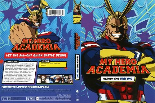 Kouhei Horikoshi, BONES, Boku no Hero Academia, Toshinori Yagi, DVD Cover