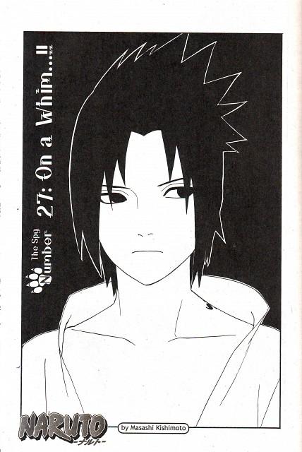 Masashi Kishimoto, Naruto, Sasuke Uchiha