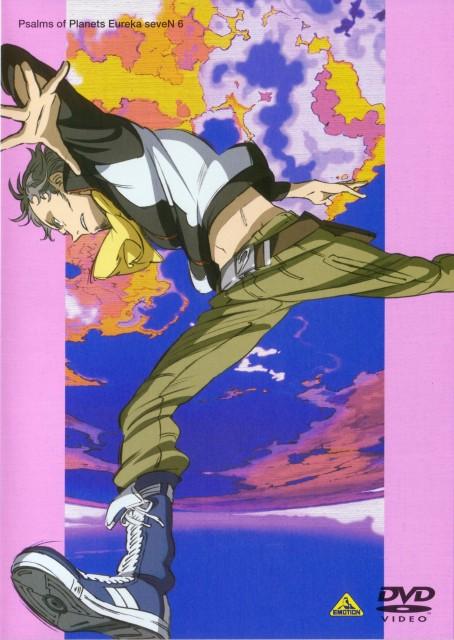 Kazuma Kondou, BONES, Eureka 7, Holland Novak, DVD Cover
