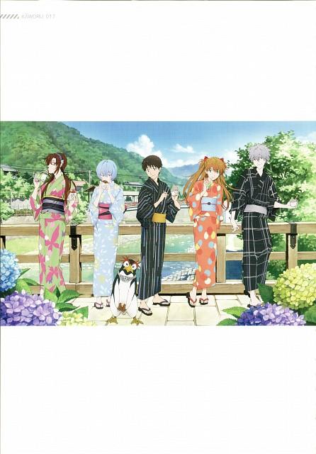 Akemi Hayashi, Gainax, Neon Genesis Evangelion, Kaworu 2015, Makinami Mari Illustrious