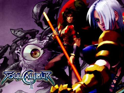 Namco, Soul Calibur, Queen's Gate, Ivy Valentine, Kilik Wallpaper