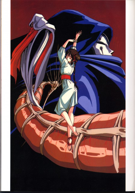 Narumi Kakinouchi, Vampire Princess Miyu, Larva, Miyu