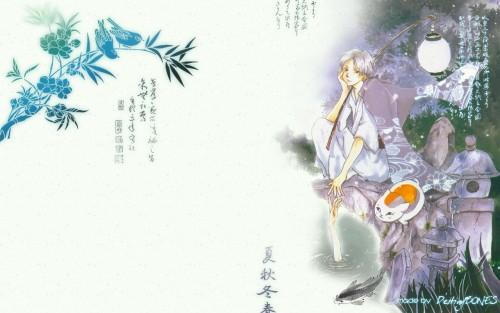 Yuki Midorikawa, Brains Base, Natsume Yuujin-Chou, Takashi Natsume, Nyanko-sensei Wallpaper