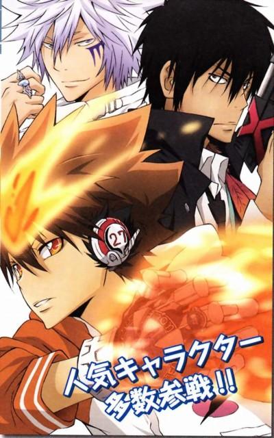 Akira Amano, Artland, Katekyo Hitman Reborn!, Byakuran, Xanxus