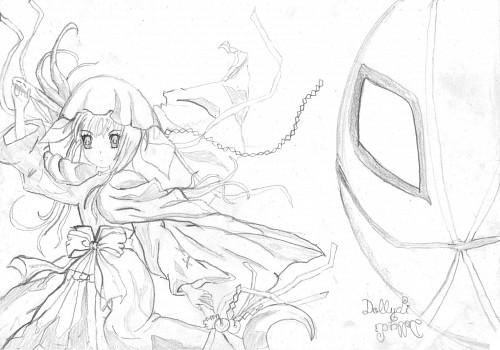 Kuroko Yabuguchi, Anime International Company, Konami, Ookami Kakushi, Member Art