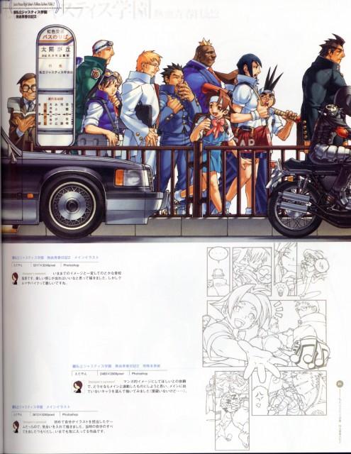 Capcom, Rival Schools, Street Fighter, Hideo Shimazu, Daigo Kazama