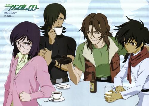 Sunrise (Studio), Mobile Suit Gundam 00, Lockon Stratos, Tieria Erde, Setsuna F. Seiei