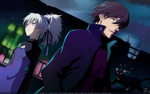 Yuji Iwahara, BONES, Darker than Black, Hei, Mao Wallpaper