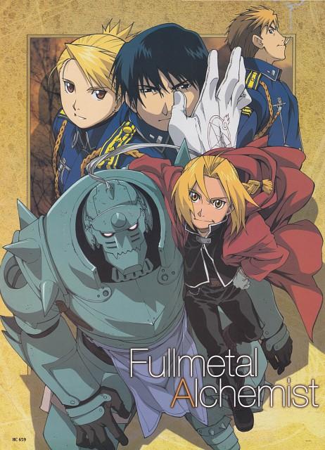 Hiromu Arakawa, BONES, Fullmetal Alchemist, Roy Mustang, Jean Havoc