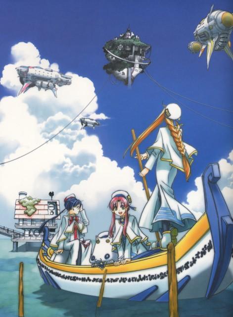 Kozue Amano, Aria, Alpha: Kozue Amano Illustration Works, Akari Mizunashi, Aria Shachou