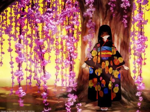 Studio Deen, Jigoku Shoujo, Ai Enma Wallpaper